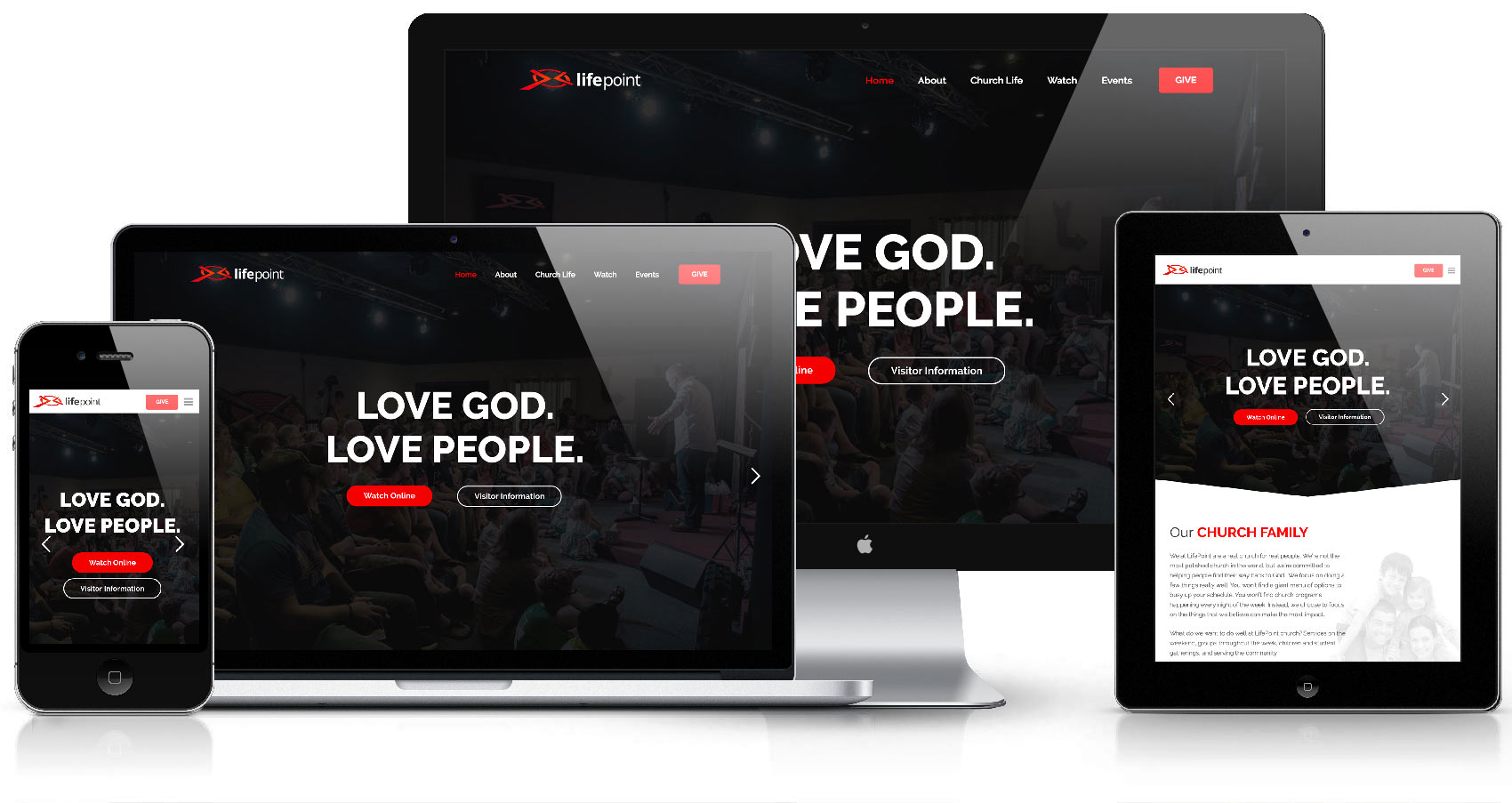 lifepoint 365 website desktop mobile responsive retina