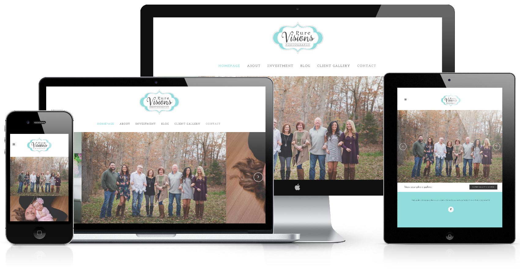 pure visions photography website_desktop mobile responsive retina