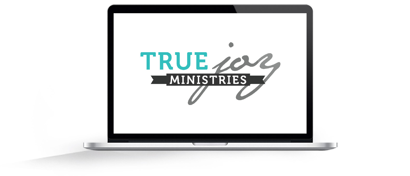 true joy ministries logo mockup